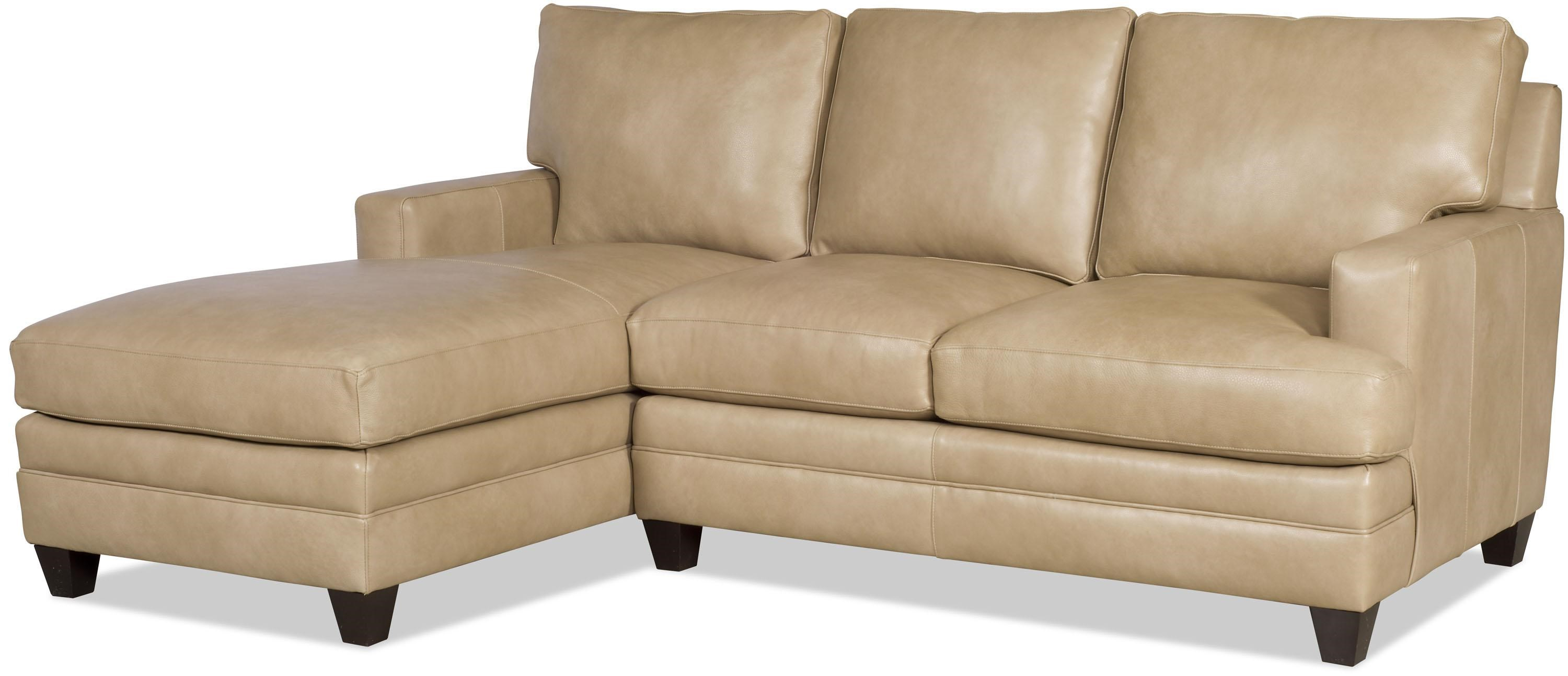 Bradington Young Donnelly Two Piece Sectional Sofa With LAF Chaise    Mueller Furniture   Sectional Sofas