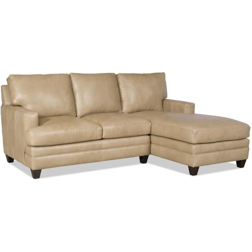 Bradington Young Donnelly Two Piece Sectional Sofa with RAF Chaise
