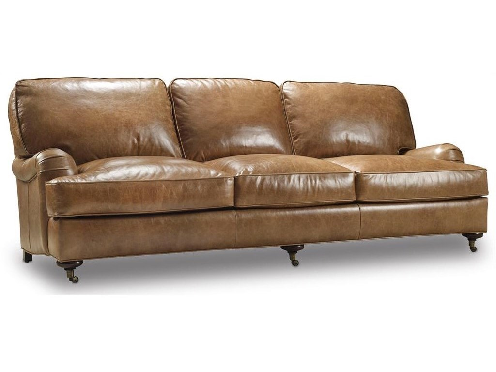 Bradington Young Hamrick Traditional Sofa With English Arms And Casters