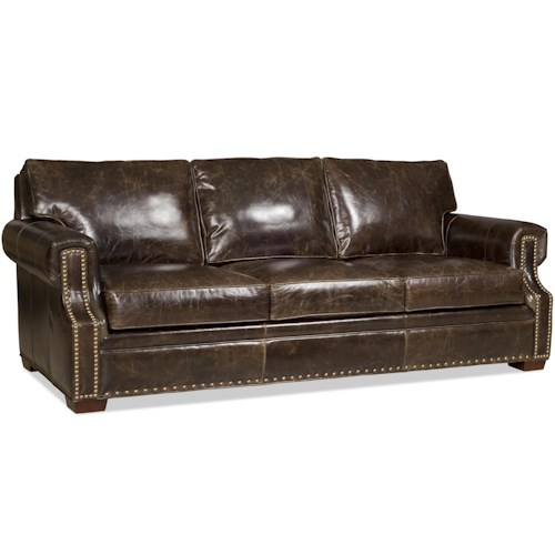 Bradington Young Jude Sofa with Rolled Arms