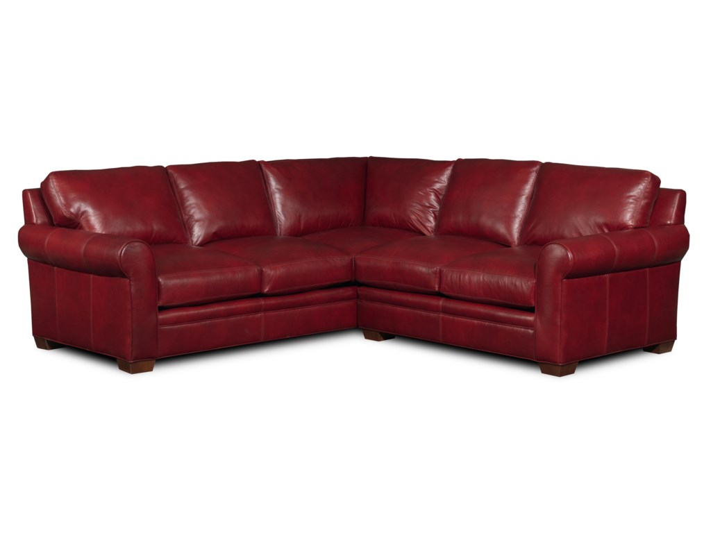 Bradington Young Landry2 Pc Sectional Sofa