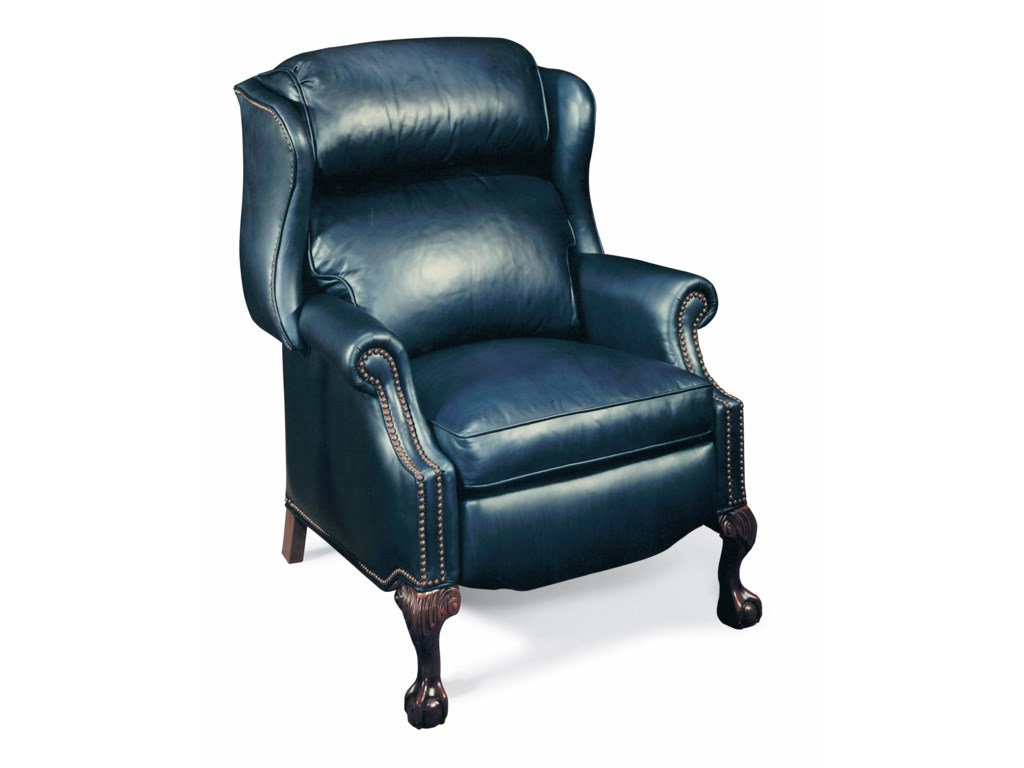 Bradington Young PresidentialReclining Wing Chair W/Brass Nails