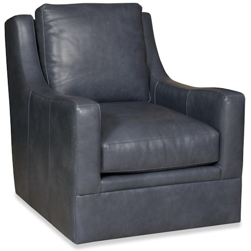 Bradington Young Swivel Tub Chairs Jagger Swivel Tub Chair