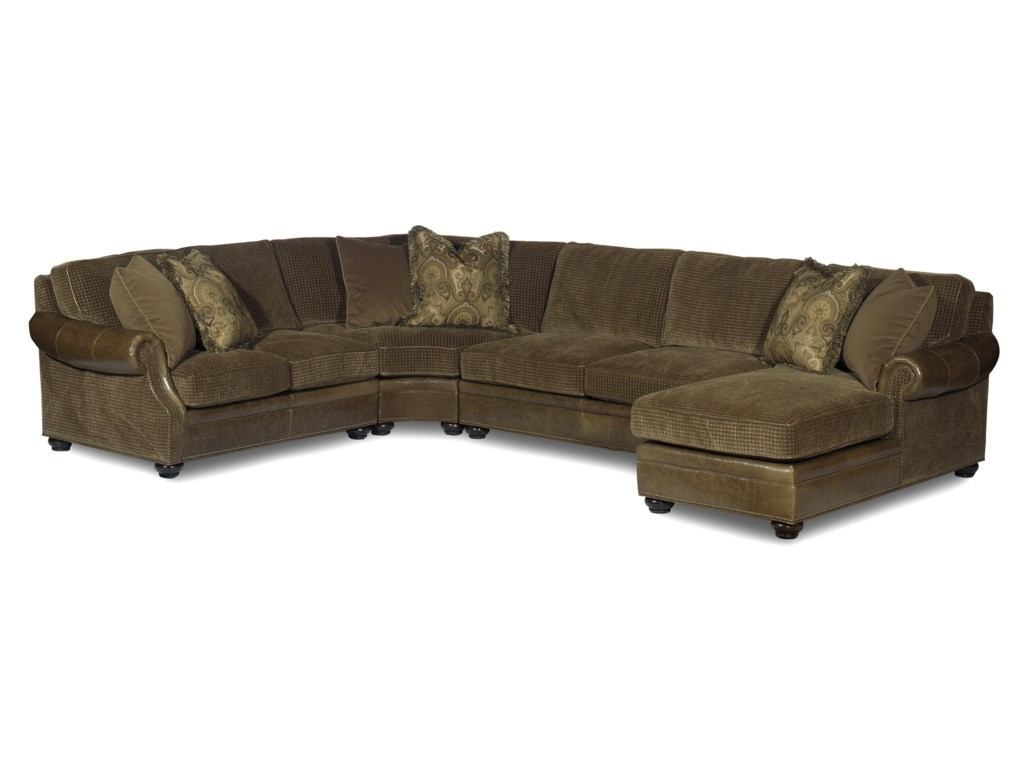 Bradington Young Warner Sectional Sofa