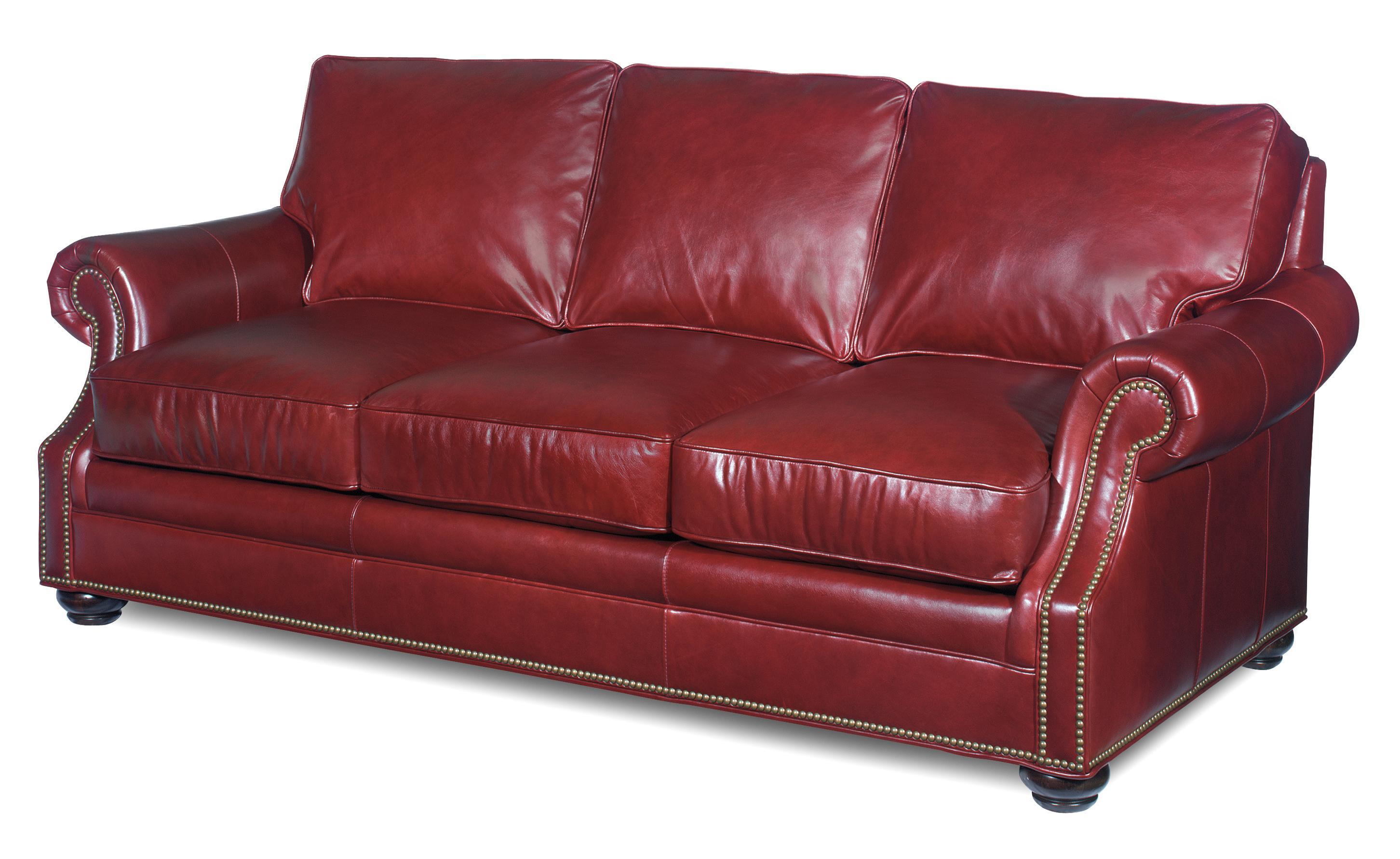 Bradington Young Warner 8 Way Tie Stationary Sofa