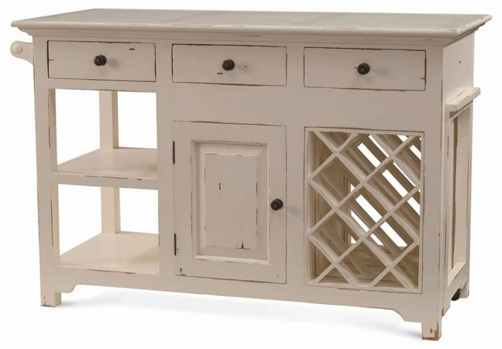 Kitchen Island Pull Out Table Bramble Aries Napa Kitchen Island With Pullout Table  Adcock