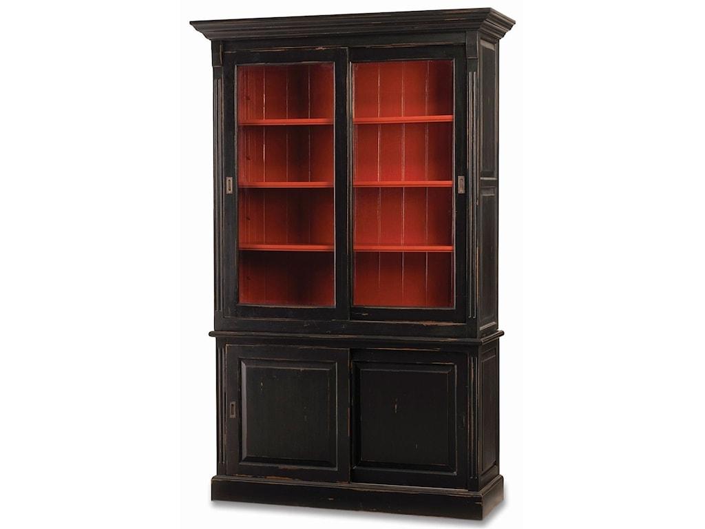 Bramble Homestead Hudson 88 Bookcase W 2 Sliding Doors