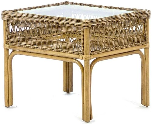 Braxton Culler Harwich Glass Top End Table