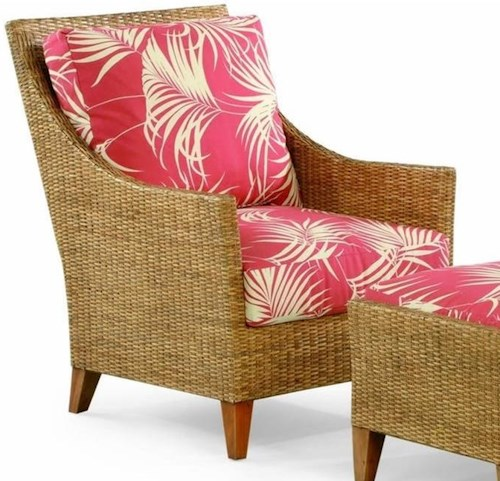 Braxton Culler 1965 Wicker and Rattan Chair