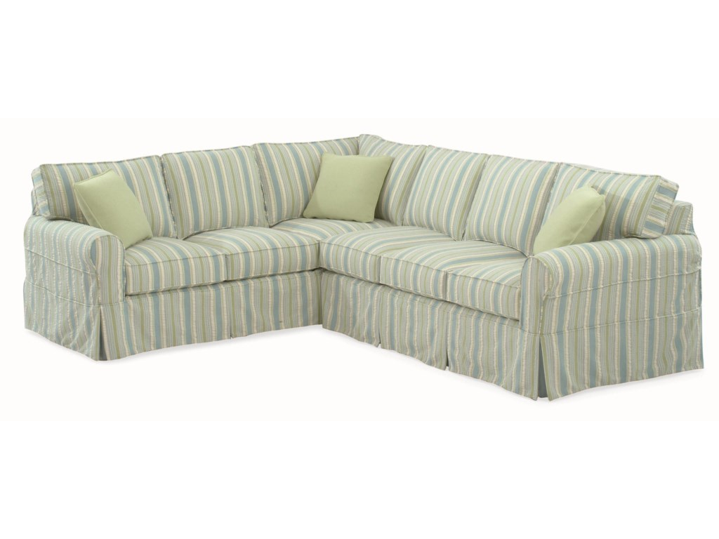 Vendor 10 728Sectional Sofa with Slipcover