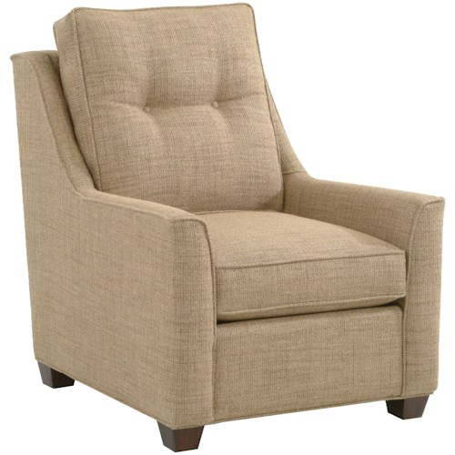 Braxton Culler 745  Traditional and Modern Upholstered Accent Chair