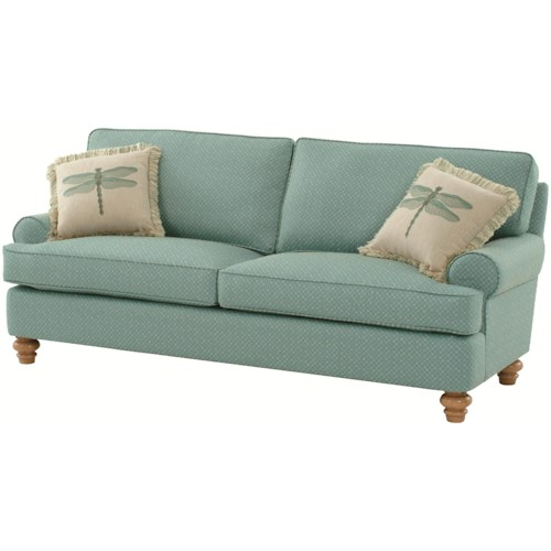 Braxton Culler 773 Lowell Stationary Cottage Styled Sofa