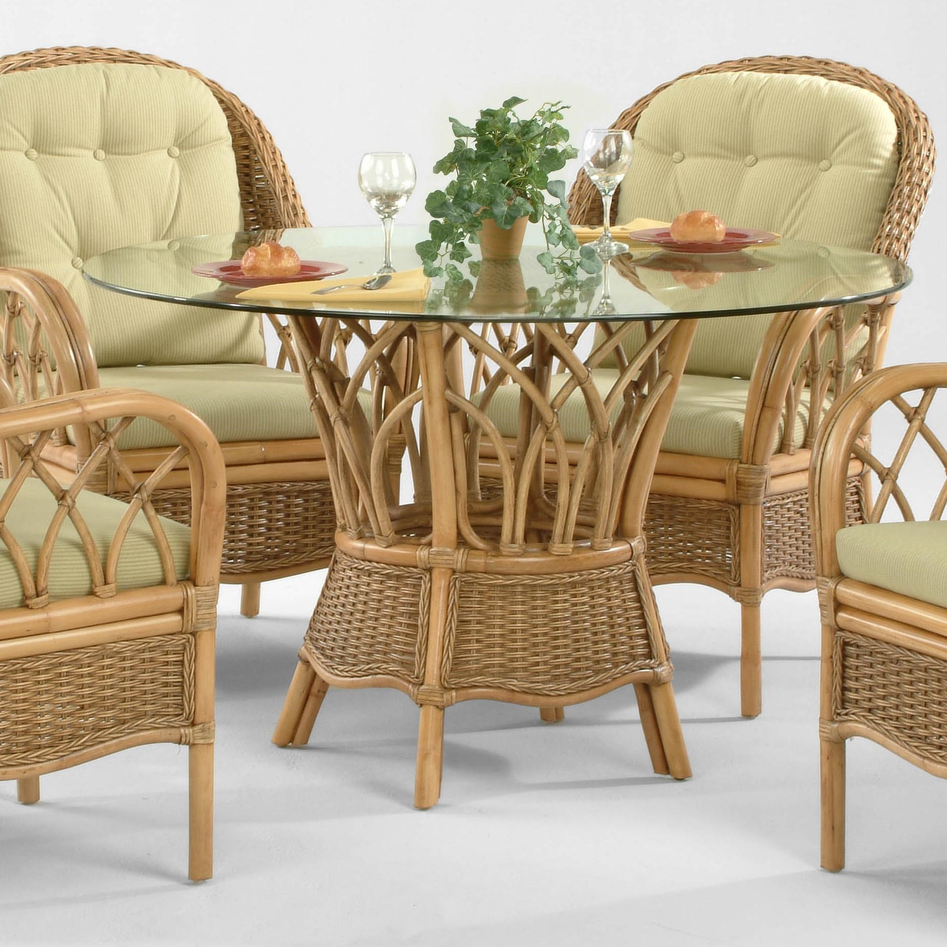 tropical dining room furniture. Interesting Room Braxton Culler EvergladeRound Dining Table  With Tropical Room Furniture O