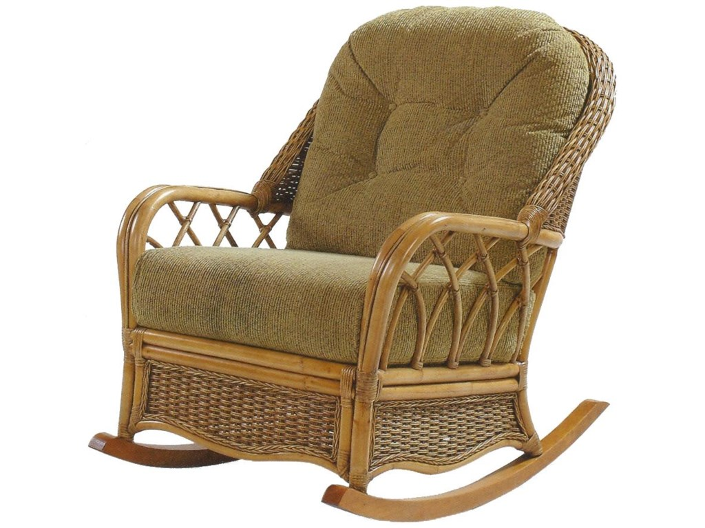 Vendor 10 EvergladeWicker Rattan Rocker