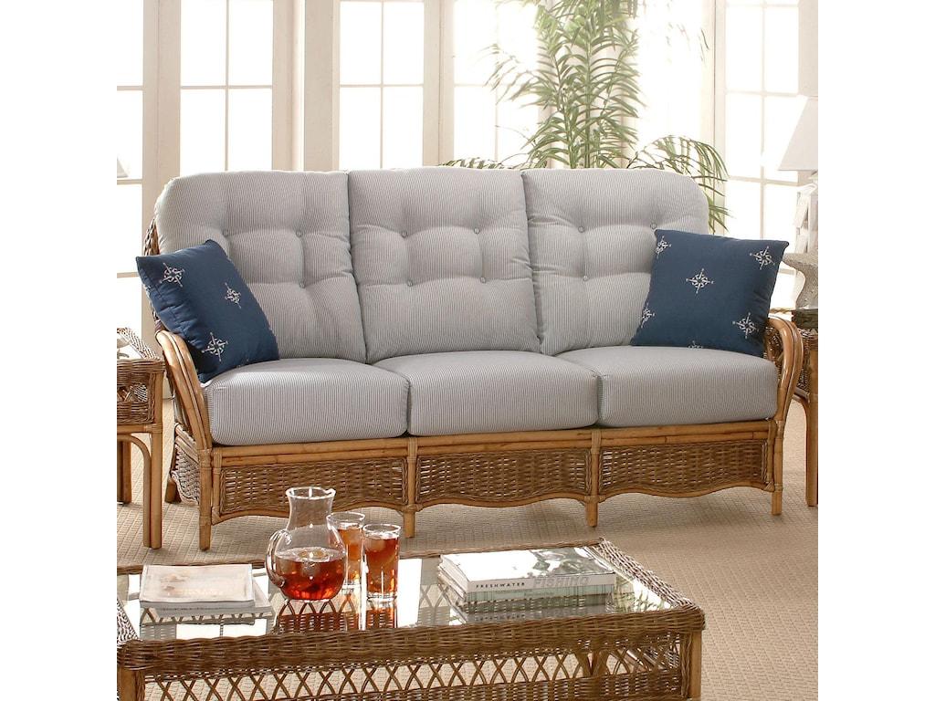Braxton Culler EvergladeRattan Sofa