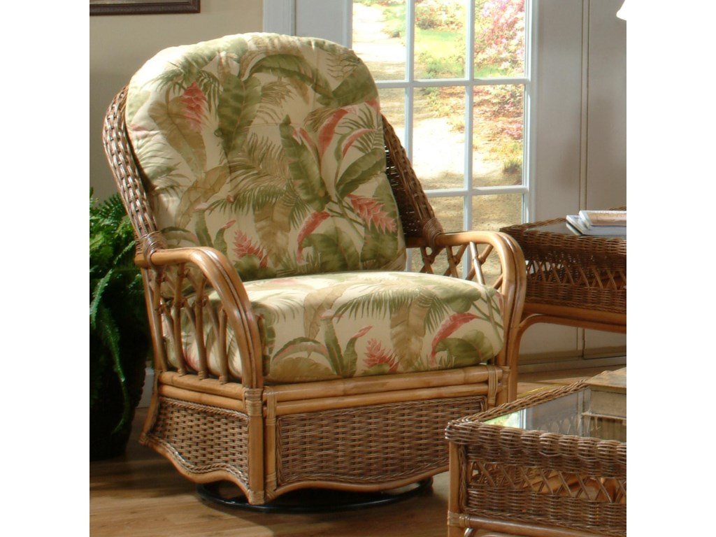 Braxton Culler EvergladeMission Style Everglade Swivel Glider