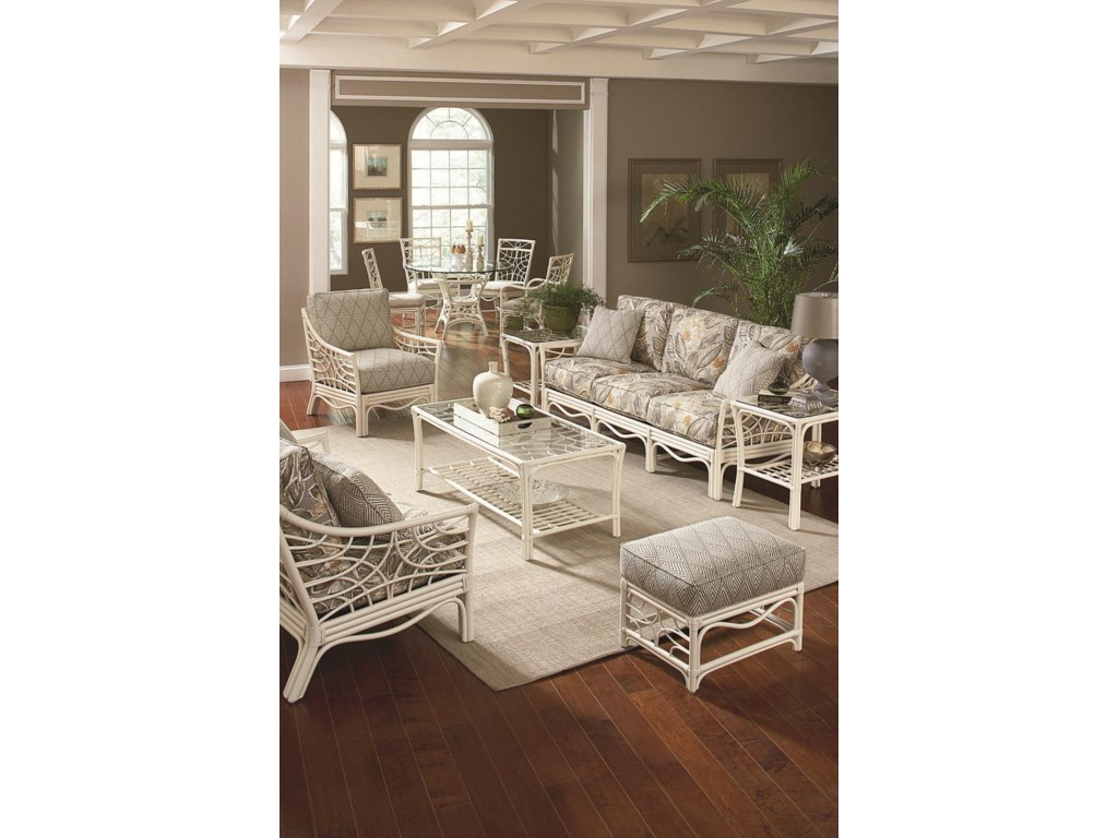 Shown with Coffee Table, Dining Set, End Table, and Sofa