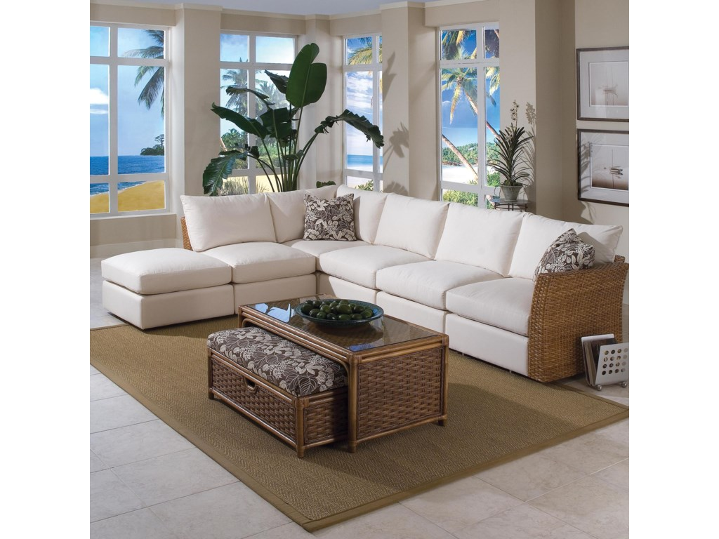 Braxton Culler Grand Water Point6 Piece Sectional Sofa