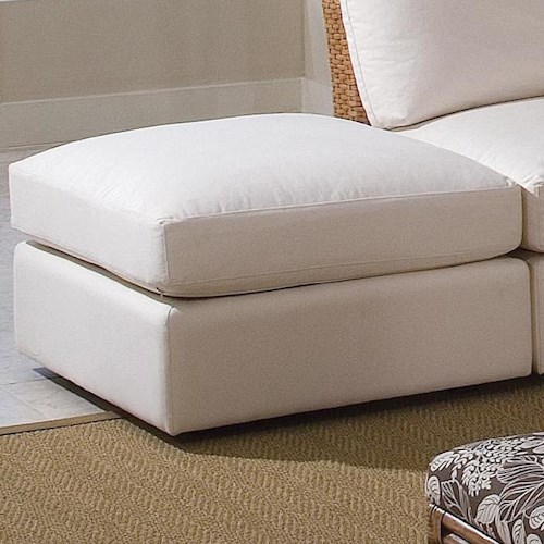 Braxton Culler Grand Water Point Ottoman