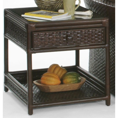 Braxton Culler Grand Water Point One Drawer End Table