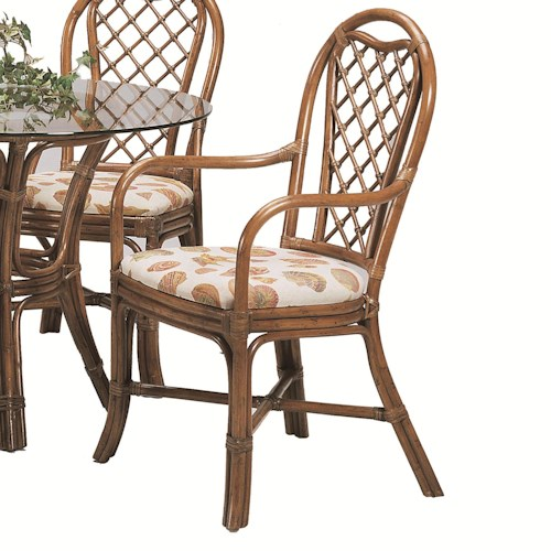 Braxton Culler 979 Trellis Dining Arm Chair