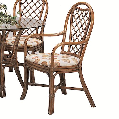 Braxton Culler 979 Trellis Dining Arm Chair