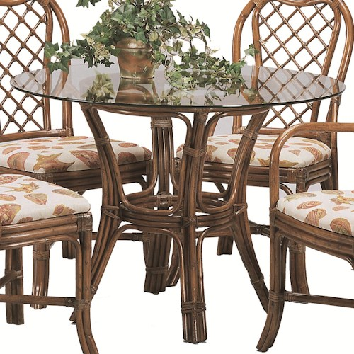 Braxton Culler 979 Single Pedestal Dining Table