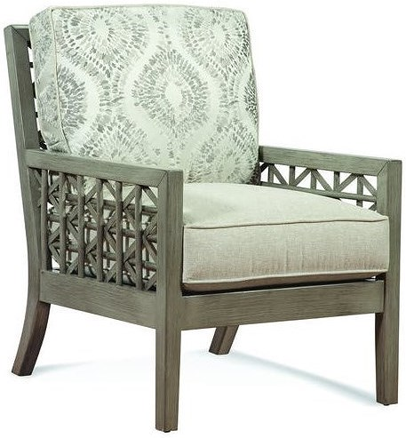 Braxton Culler Accent Chairs Exposed Wood Accent Chair
