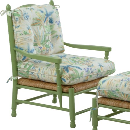 Coastal Style Vineyard Accent Chair