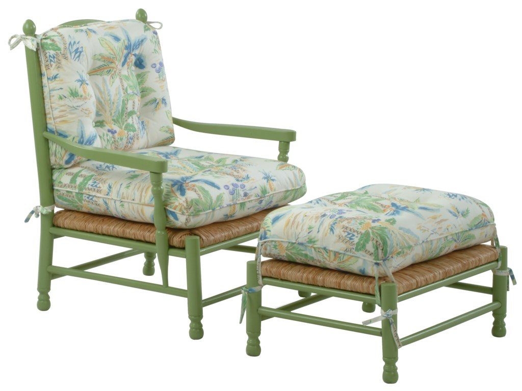 Vendor 10 Accent ChairsVineyard Accent Chair and Ottoman Set
