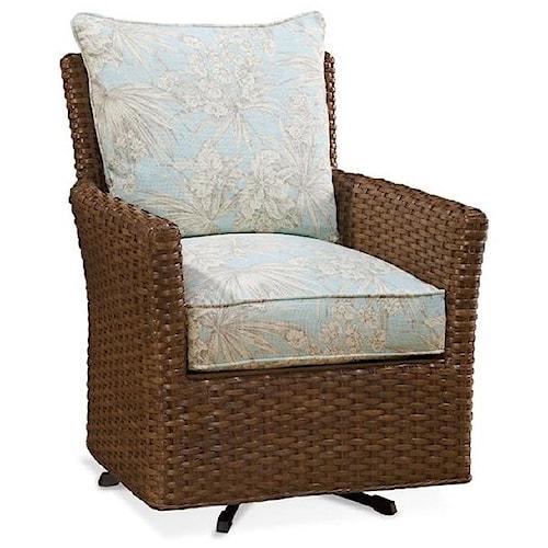 Braxton Culler Accent Chairs East Coast Swivel Chair