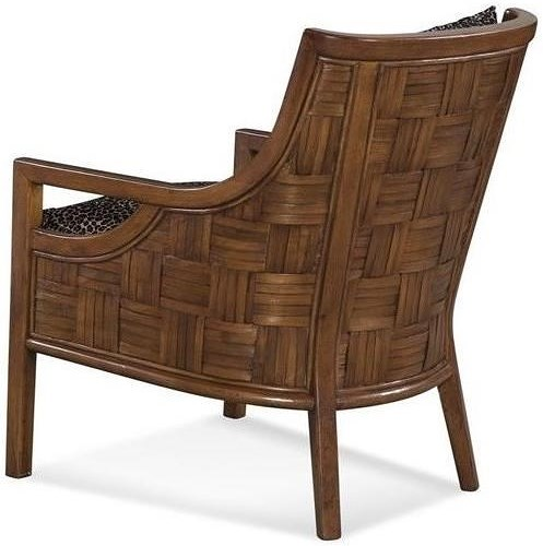 Braxton Culler Accent Chairs Exposed Wood Chair