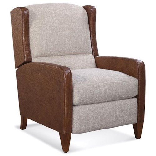 Braxton Culler Accent Chairs Casual High Leg Recliner