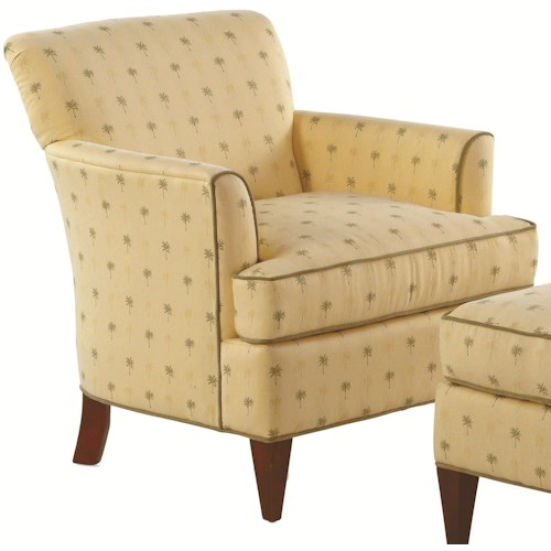 Braxton Culler Accent Chairs Tuscany Upholstered Cabin Side Chair