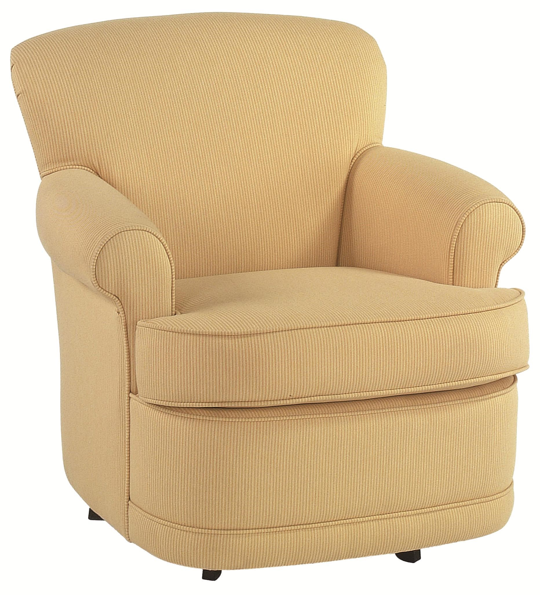 Braxton Culler Accent ChairsTraditional Upholstered Swivel Chair