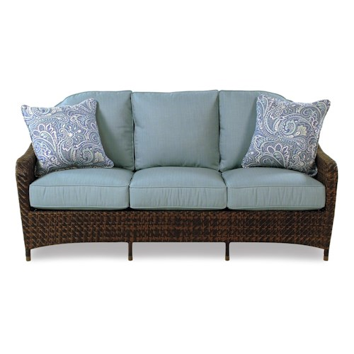 Braxton Culler Retreat Outdoor Sofa w/ Rounded Back