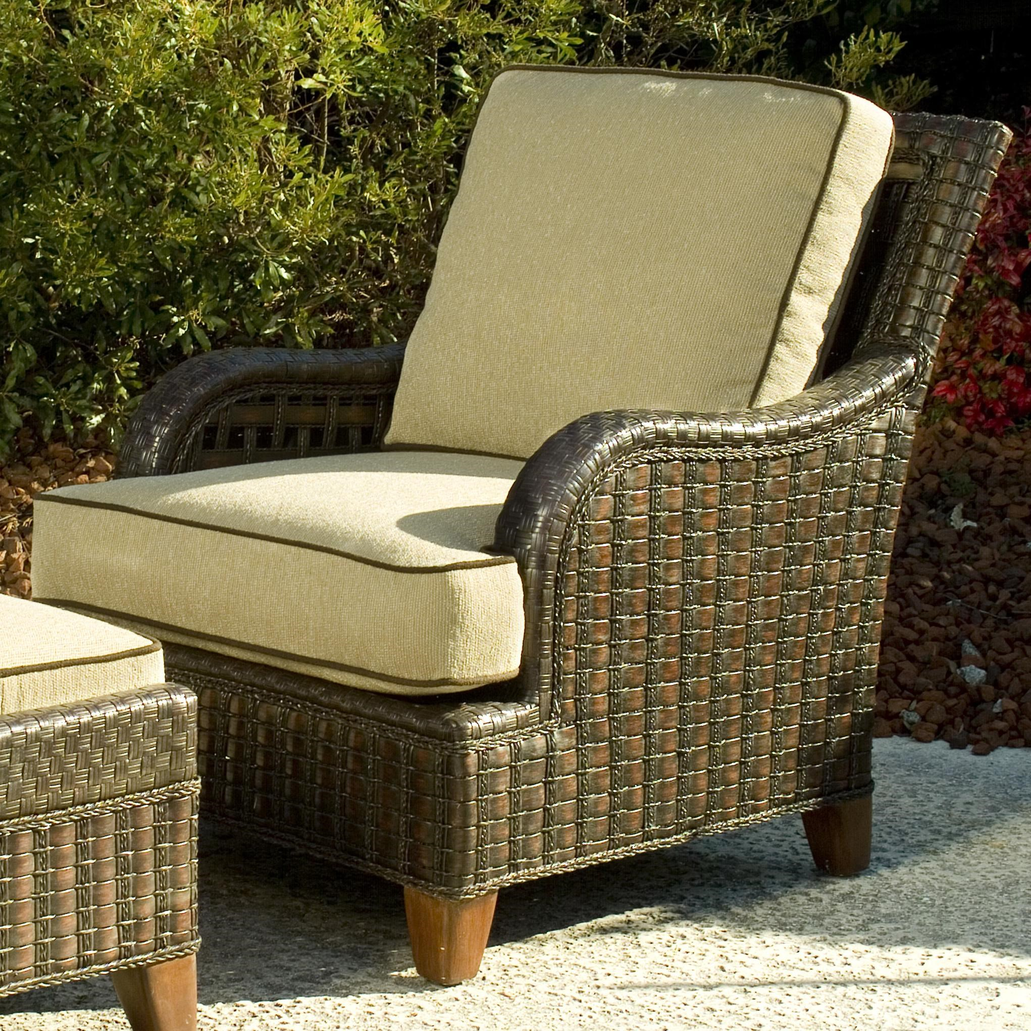 Braxton Culler Lake Geneva Outdoor Lounge Chair W Curved