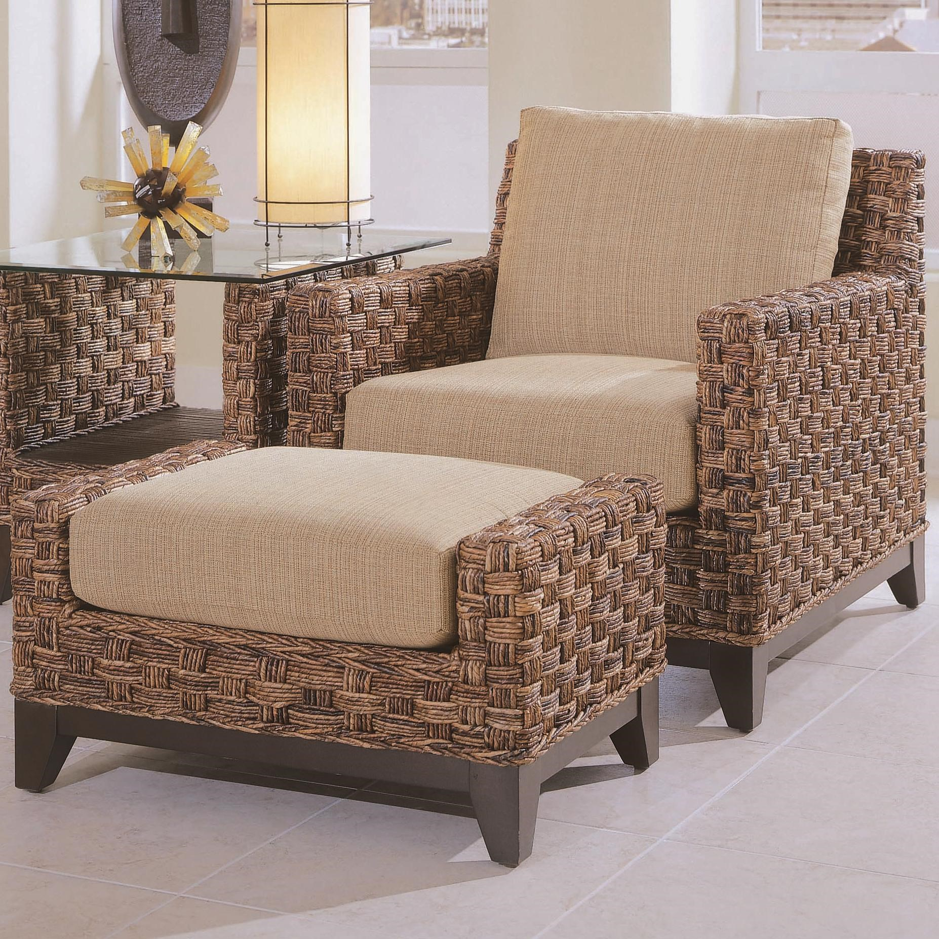 Beau Braxton Culler Tribeca 2960Chair And Ottoman ...
