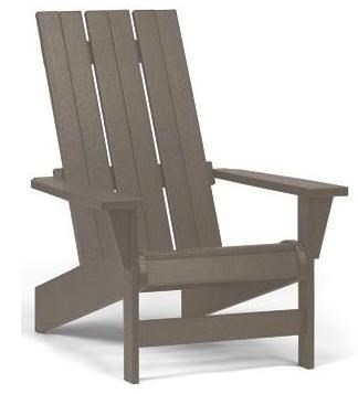Breezesta Basics Adirondack Chair With Straight Back By Breezesta
