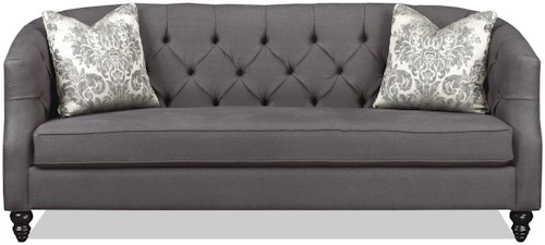 Brentwood Classics 1230 Daisy Tufted Sectional Sofa