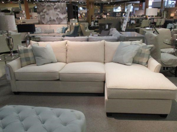 Brentwood Classics 1270 Gene Sectional Sofa With Chaise Stoney