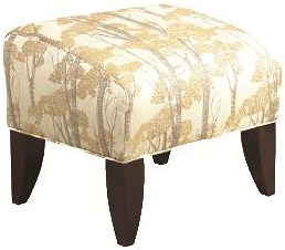 Brentwood Classics 147 Modern Ottoman with Unique Furniture Design