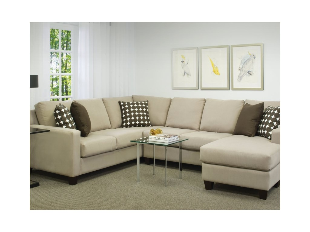 Brentwood Classics Finley2 Piece Sectional with Chaise