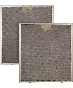 Dishwasher-safe, Aluminum Mid-mesh Filters with Antimicrobial Coating