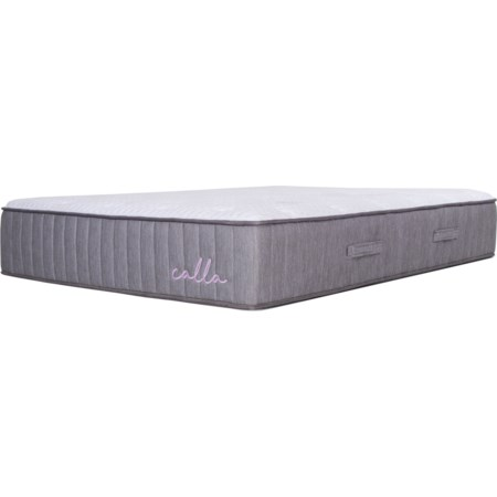 "Full 14"" Soft Latex Hybrid Mattress"