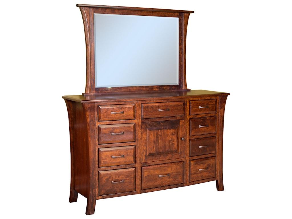 Brookside Furniture Ensenada10 Drawer 1 Door Dresser