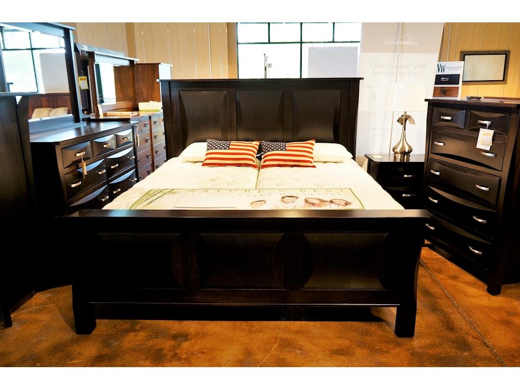 Brookside Furniture PrestonQueen Bedroom Group