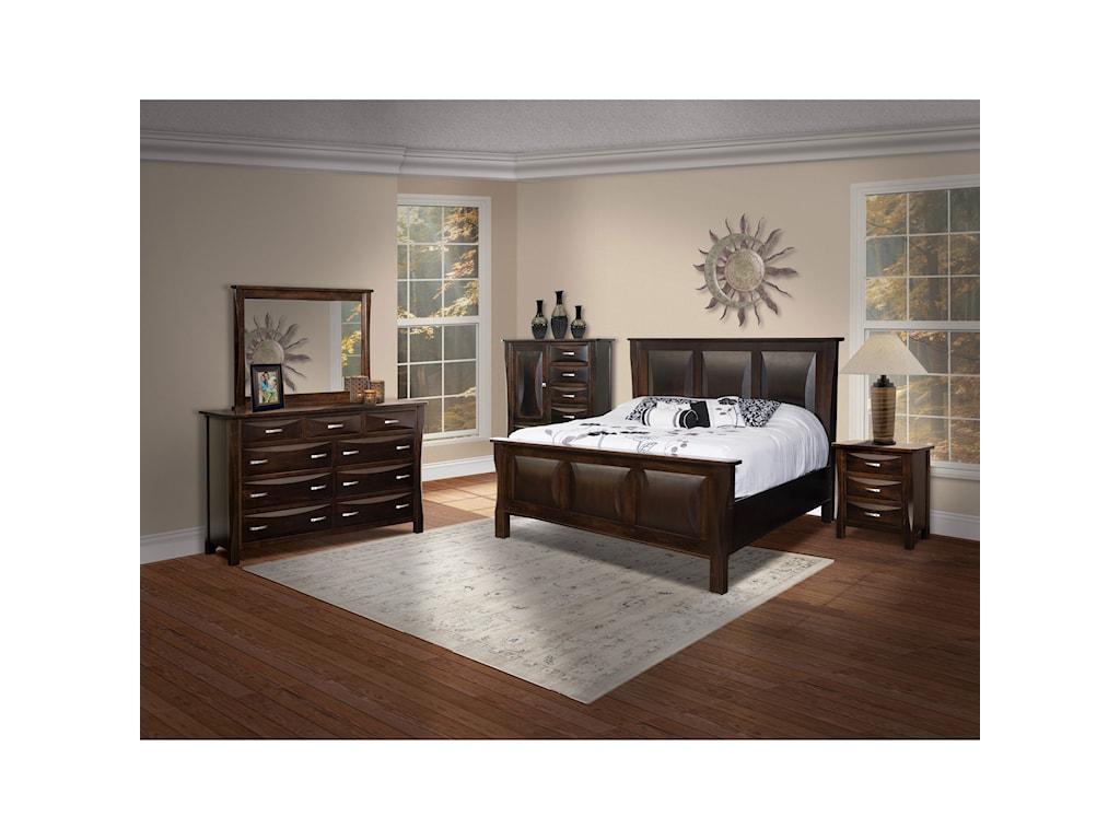 Brookside Furniture Preston3 Drawer Night Stand