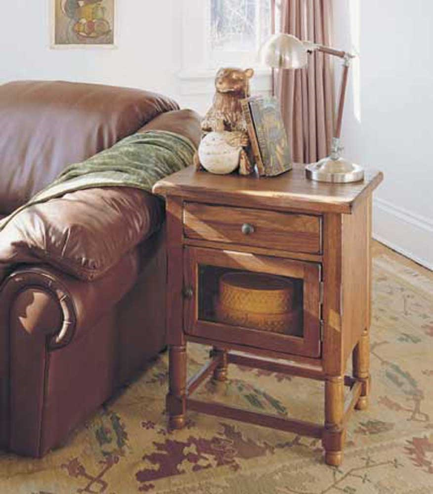 broyhill furniture attic heirlooms chairside table