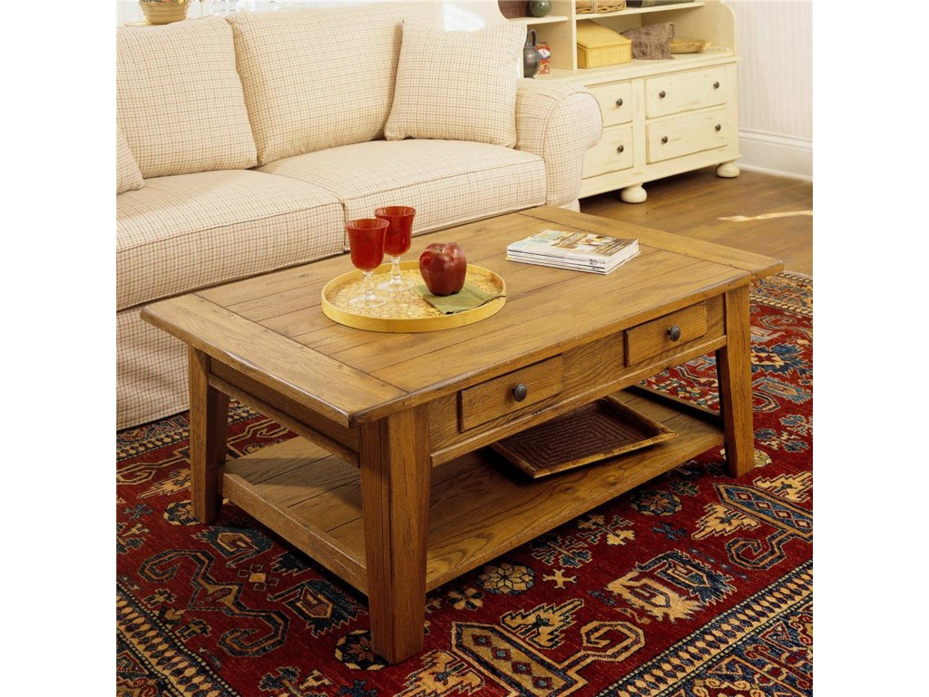 Broyhill Furniture Attic HeirloomsCocktail Table